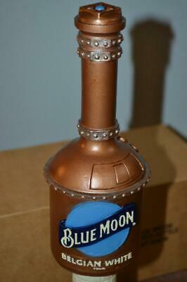 Very Rare Nib Blue Moon Belgian Copper Kettle Beer Draft Tap Handle Steampunk