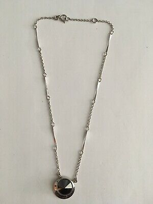 Antique Vtg Art Deco Pendant With Chain