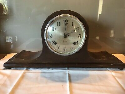 Vintage American Sessions Mantle Clock Working