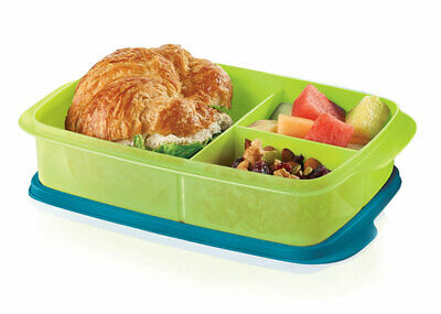Tupperware Lunch It Large Divided Lunch Container Dish for On the Go - NEW!