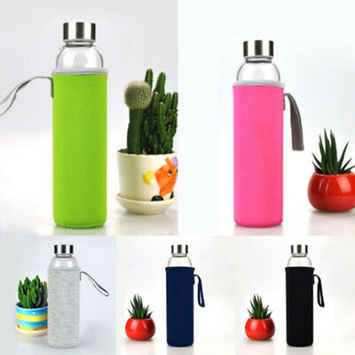 Sport Insulated Water Bottle Cover Sleeve Bag Holder Case Carrier Neoprene Pouch