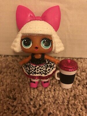 LOL Surprise Doll GLITTER DIVA BABY Big Sis Big Sister Dolls Babe Bow Cheetah
