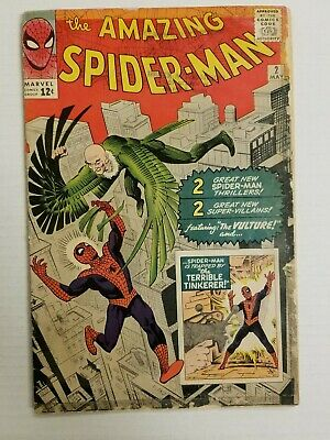 Amazing Spider-Man #2 (May 1963) Marvel. Silver Age. 1St Vulture, Key Book !!!