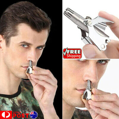 Mini Nose Hair Trimmer Waterproof Mini Nose Hair Ear Trimmer Shaver Clipper NEW