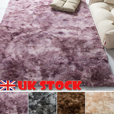 Shaggy Rug Area Rugs Carpet Living Room Bedroom Soft Fluffy Large Rug Home Decor