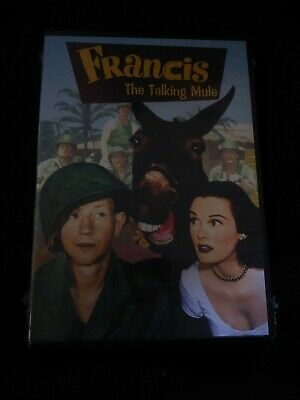 Francis the Talking Mule (DVD, 2012) Sealed