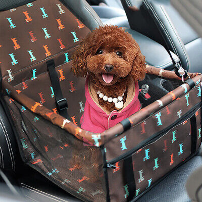 Safe Pet Dog Carrier Car Seat Cover Pad Carry Travel House Cat Puppy Bag Basket