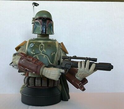 Gentle Giant Star Wars Boba Fett Mini Bust SDCC 2013 Exclusive.1274 of 2500