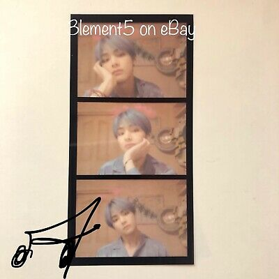 BTS V Photocard Film Strips Maps of the Soul Persona Jungkook Jin RM Jimin Suga