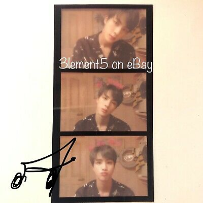 BTS Jin Photocard Film Strips Maps of the Soul Persona Jungkook Jhope Jimin Suga