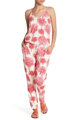 Ladies Maaji Palm Tree Print Jumpsuit Size M