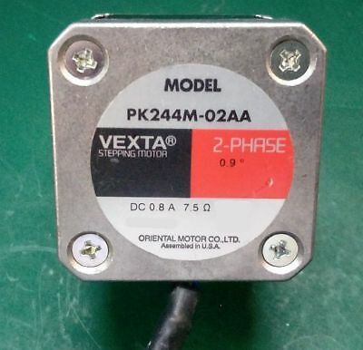 LOT of 10 VEXTA PK244M-02AA 2-PHASE 0.9 Step STEPPING MOTORS