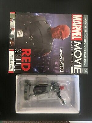 Marvel Movie Collection #8 Red Skull Figurine Eaglemoss New Captain America