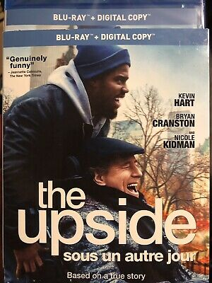 The Upside 2019 Blu-Ray w Slipcover Canada Bilingual NO DC LOOK