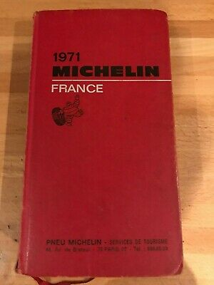 Guide Michelin France 1971