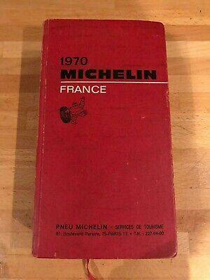 Guide Michelin France 1970