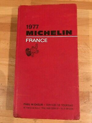 Guide Michelin France 1977