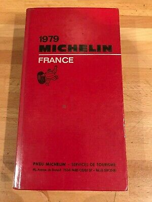 Guide Michelin France 1979
