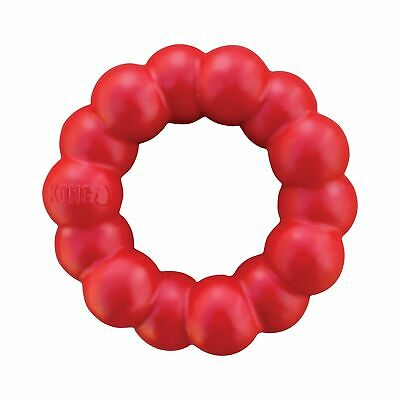 KONG - Ring - Durable Rubber Dog Chew Toy - For Medium/Large Dogs