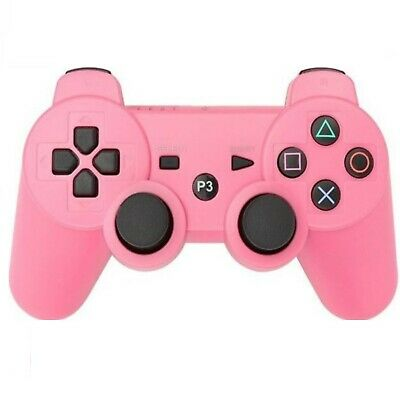 PS3 Wireless Bluetooth Gamepad Controllers for Playstation 3 Pink  USA SELLER