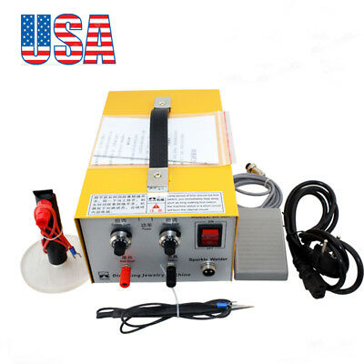 Pulse Sparkle Spot Welder Jewelry Welding Machine Gold Silver Platinum -USA