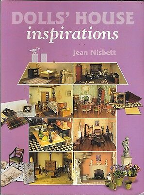 Dolls' house inspirations book PB GUC Jean Nisbett 1st edition 2007 miniatures