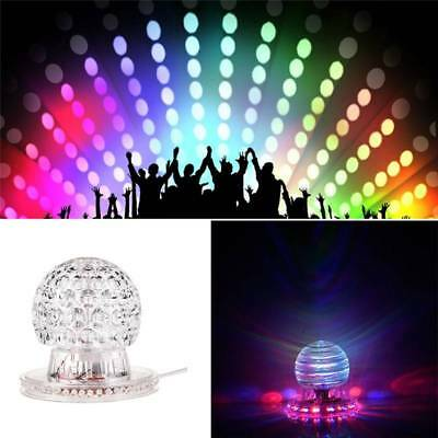 3W Effect Disco Light Stage LED Crystal DJ Laser Lights Magic Ball Party Club