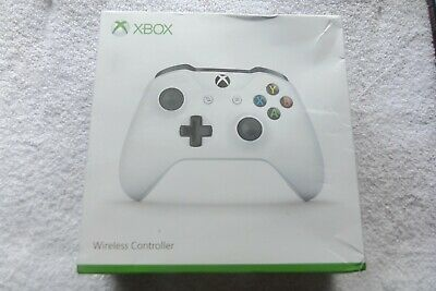 Official Microsoft Xbox One Wireless Controller White Boxed V.g.c. Fast Post
