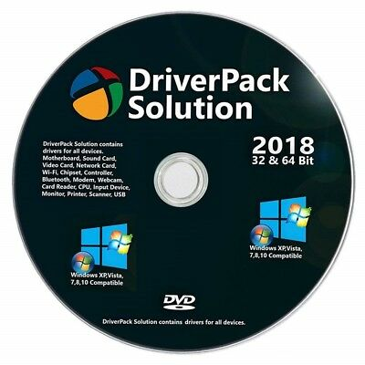 NEW PC & Laptop Driver Pack - Wifi & Network Drivers Win XP/7/8/10