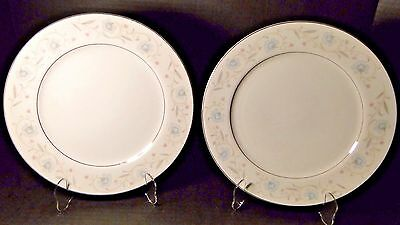 "Fine China of Japan English Garden 1221 Dinner Plates 10 1/4"" (Set of 2)"