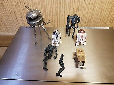 Star Wars Droids Job Lot Bulk Gonk droid Super Battle Droid Probe Droid R2 D2