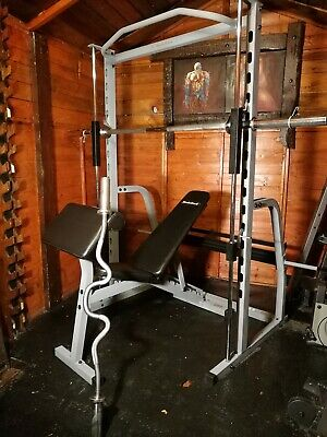 Nordic Track Heavy Duty Smith Machine Bench rated to 250 kg - CAN DELIVER