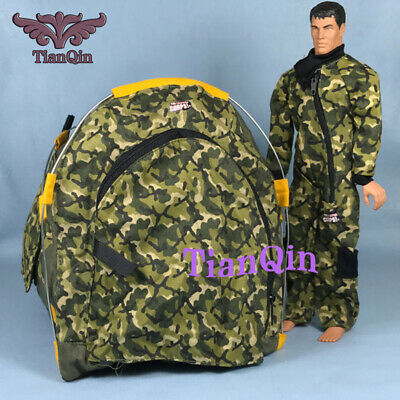 1/6 Lannad 12-Inch Soldier Toy Camouflage Tent Scene Accessories