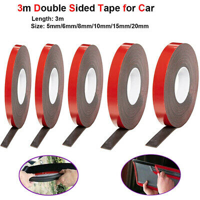 3M Strong Permanent Double-Sided Adhesive Glue Tape Super Sticky for Car Led UK