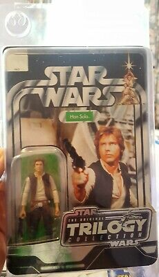 Star Wars Original Trilogy Collection Han Solo Action Figure Unopened Complete