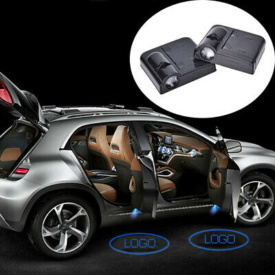 2pcs Wireless LED Car Door Welcome Projector Logo Light For Toyota&Honda&BMW