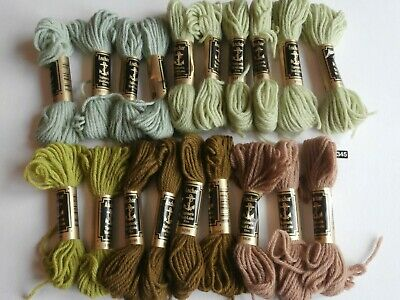 Anchor Tapestry Wool 20 x 10m Skeins All Shades Your Own Choice