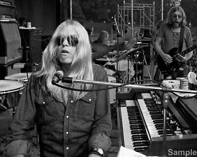 Greg Allman, With Duane Southern Rock 10x8 Music Publicity Photo Print Picture