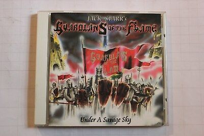 JACK STARR'S GUARDIANS Of The FLAME - UNDER A SAVAGE SKY - CD - VIRGIN STEELE
