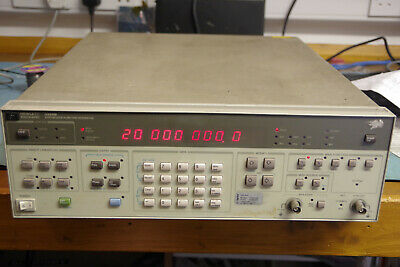 Hewlett Packard HP 3325B Function Generator synthesiser 1uHz to 21MHz