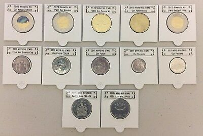 CANADA 2017 New Complete coins set Circulation coins + 50 cents (BU from roll)