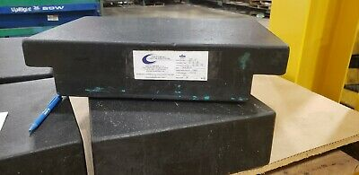 18x12x4 Granite Surface Plate with 2 ledges.