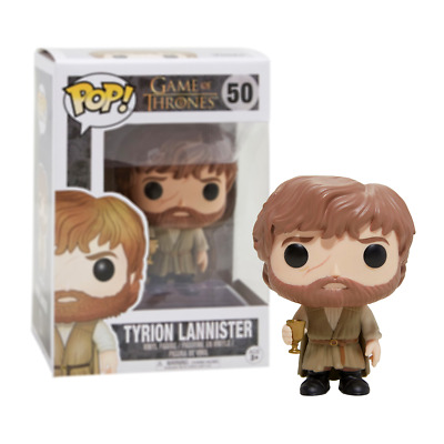 New Game Of Thrones Tyrion Lannister Pop Vinyl Figure #50 Funko Official