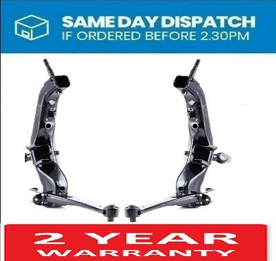 2 x TOYOTA AVENSIS T25 2003-2008 REAR LOWER WISHBONE SUSPENSION CONTROL ARM BAR