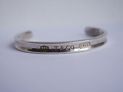 METAL DETECTING FIND - STERLING SILVER BANGLE BRACELET ,,TIFFANY AND Co 925,,