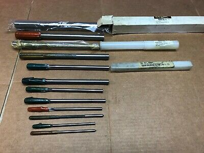 Lot of 12 New Chucking Reamers HSS