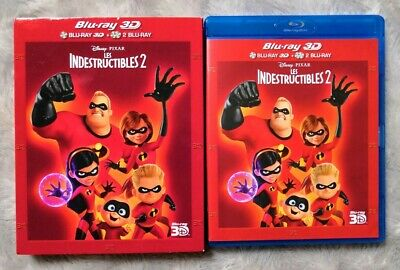 DISNEY - BLU-RAY 3D / 2D - 121 : LES INDESTRUCTIBLES 2 (avec FOURREAU)