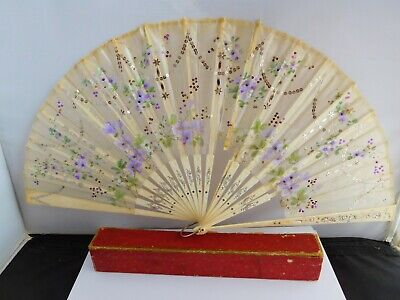 Good Quality Antique Hand Painted  Hand Fan