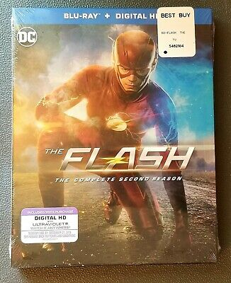 The Flash The Complete 2nd Season. Blu-ray & Digital HD - Only @ Best Buy