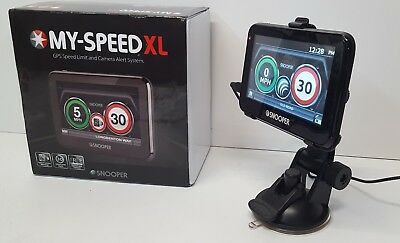 Snooper My-Speed XL Car Truck Camera and Limit Warning GPS System OPEN-BOX#